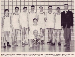 1961 - 62, Senior Boys Volleyball