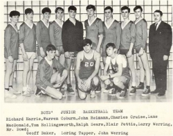 1968 - 69,Junior Boys Basketball