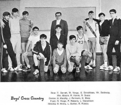 1969 - 70, Boys Cross Country