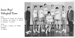 1969 - 70, Junior Boys Volleyball