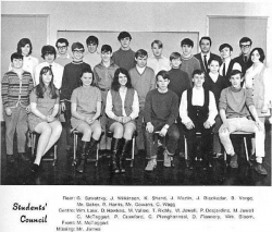 1969 - 70, Student Council