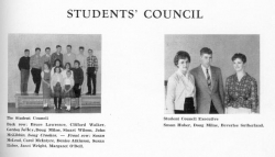 1959 - 60, Students Council