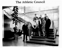 1960 - 61, Athletic Council