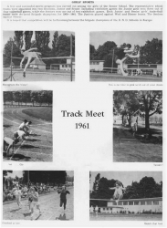 1960 - 61, Girls Sports Track Meet