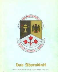 1962 - 63, Cover