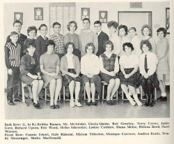 1962 - 63, Yearbook Staff
