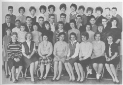 1963 - 64, Yearbook Staff