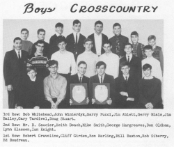 1966 - 67, Boys Cross Country