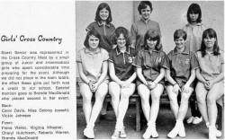 1968 - 69, Girls Cross Country
