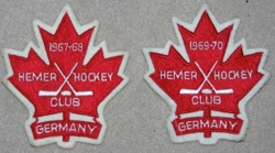 1967 - Hockey crests