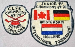 1969 - Hockey crests