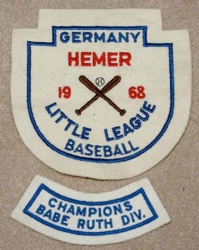 1968 - Little League baseball Crest