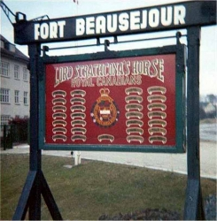 Fort Beausejour Sign