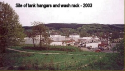 2003 Site of Tank Hangars and Wash Rack