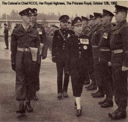 1960 October The Colonel in Chief RCCS, Her Royal Highness, The Princess Royal
