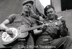 D Bty 2 RCHA Troubadors Chase Cole