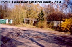 2004 Fort St. Louis Front Gate from Inside