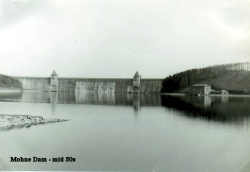 1955 mid 50s Mohnesee (Moehnesee) Dam
