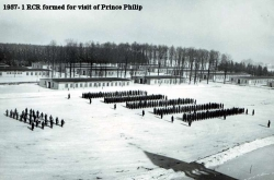 1957 1 RCR Formed for Visit by Prince Philip
