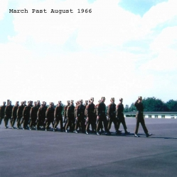 1966 August, March past