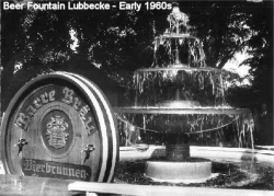 Early 60s - Beer Fountain Lubbecke 2