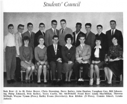 1961 - 62, Students Council