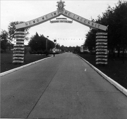 1963 Just inside front gate