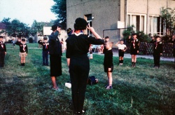 1963 - Soest Cub Investiture Akela Bridget Jones.jpg
