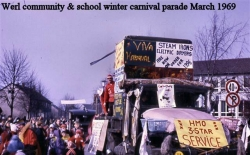 1969 Werl Community and School Winter Carnival Parade